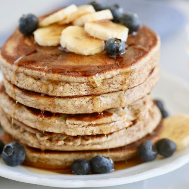 4 Ingredient Paleo Pancakes