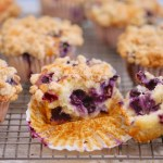 Gemma's Best Ever Blueberry Muffins