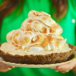 No-Bake Lemon Meringue Cheesecake