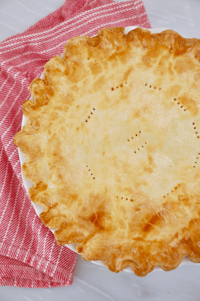 A perfectly baked pie using the tips and tools for best pies.