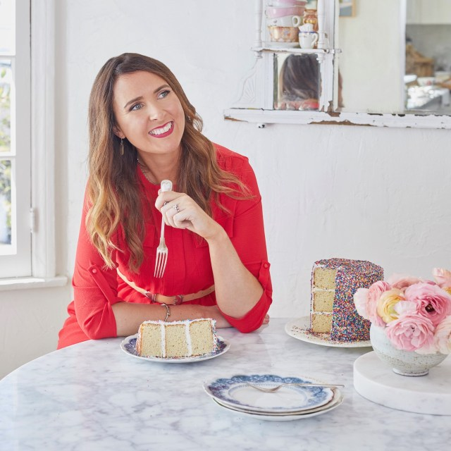 Gemma Stafford Bigger Bolder Baking Host Eating Cake best of 2019