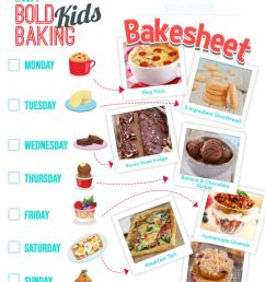 Fun Kids Baking Activities {w/ Free Worksheet!}   Bigger Bolder Baking [ 1024 x 791 Pixel ]