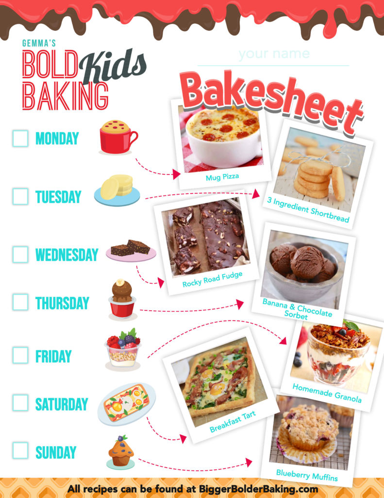 hight resolution of Fun Kids Baking Activities {w/ Free Worksheet!}   Bigger Bolder Baking