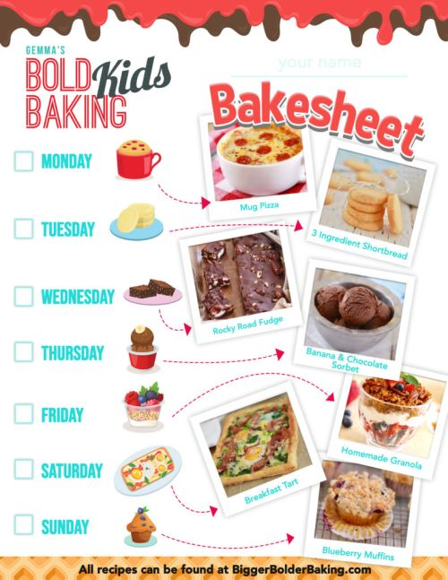 small resolution of Fun Kids Baking Activities {w/ Free Worksheet!}   Bigger Bolder Baking