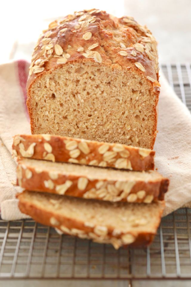 Easy Healthy Bread Recipe Without Yeast | Deporecipe.co