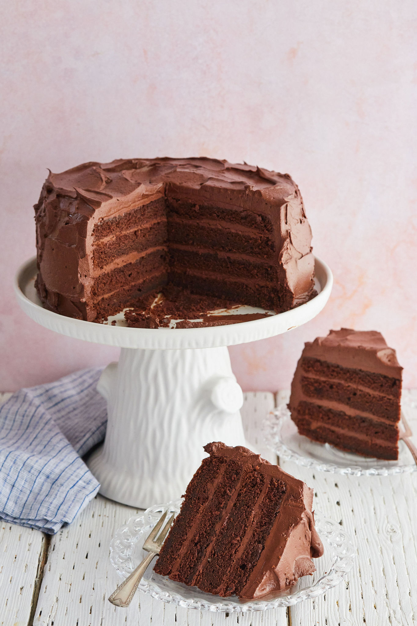 the best ever chocolate cake with