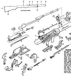 sks exploded diagram schematic diagramsfm 23 5 exploded view m1 garand sks rifles disassembly diagrams [ 1238 x 782 Pixel ]