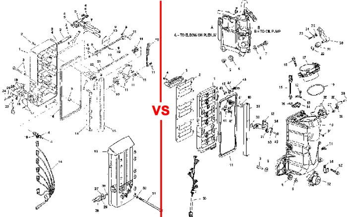 Early vs. Late 3.0 Fuel Injection Systems