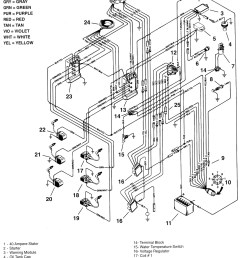 electrical system wiring diagram for 92up fishing motor [ 2144 x 3020 Pixel ]