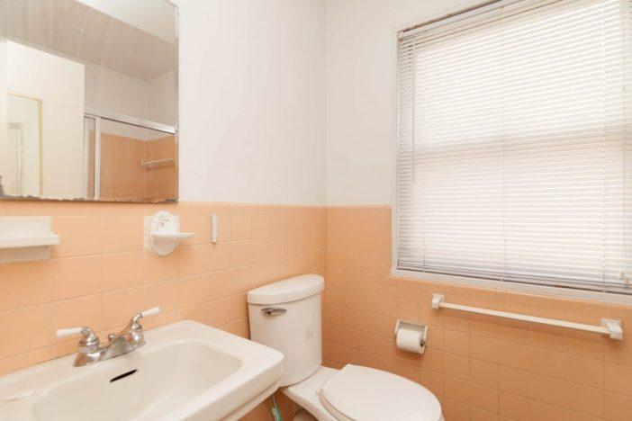 Before staging: Bathroom