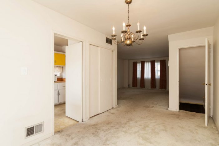 Before staging: Dining Room
