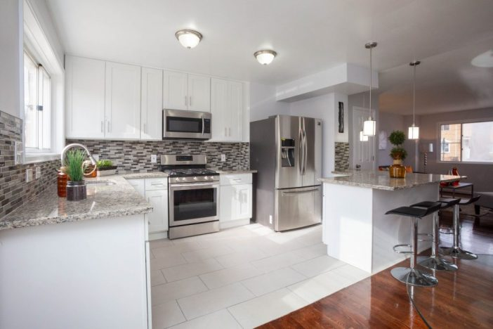 After renovation and Staging: Kitchen
