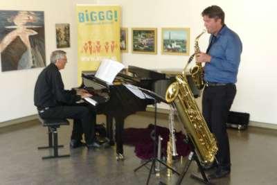 Erik-Jan de With (sax) - Peter Dingmanse (piano) in ARS