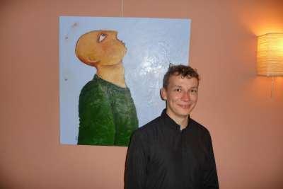 Pianist Gregor Desman (invaller voor Anto Karamenderes) - Sijthoff cultuur zaal '16