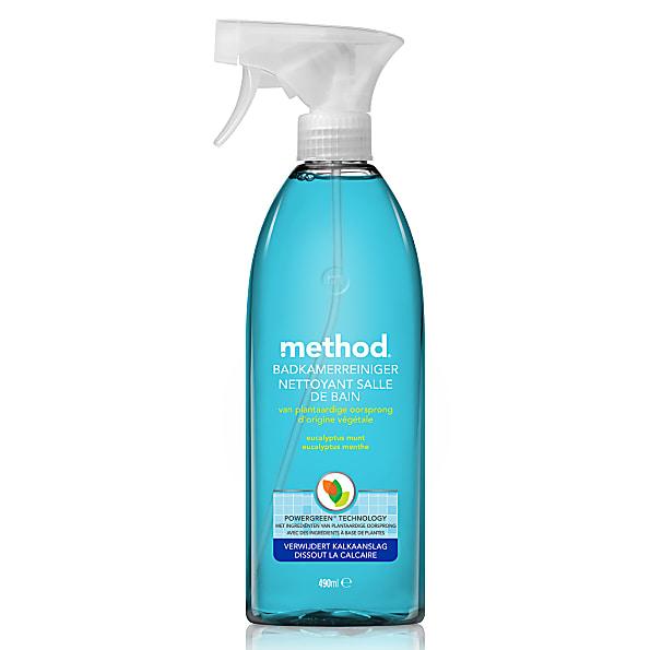 method nettoyant carrelage et bain 490ml