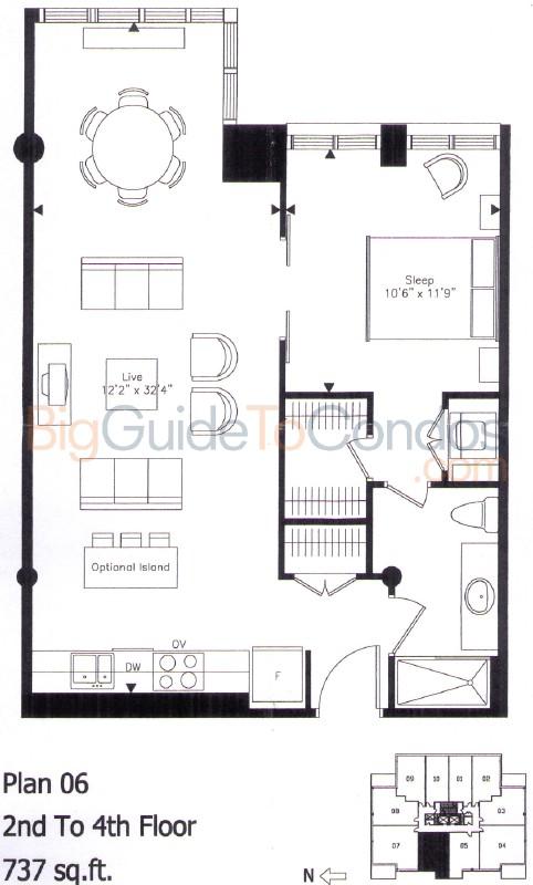 Quad Lofts Reviews Pictures Floor Plans & Listings