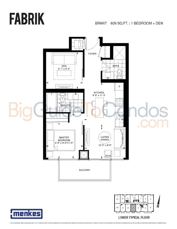 Fabrik 431 Richmond Street Reviews Pictures Floor Plans