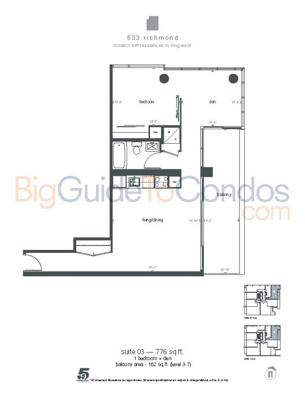 533 Richmond Street West Reviews Pictures Floor Plans