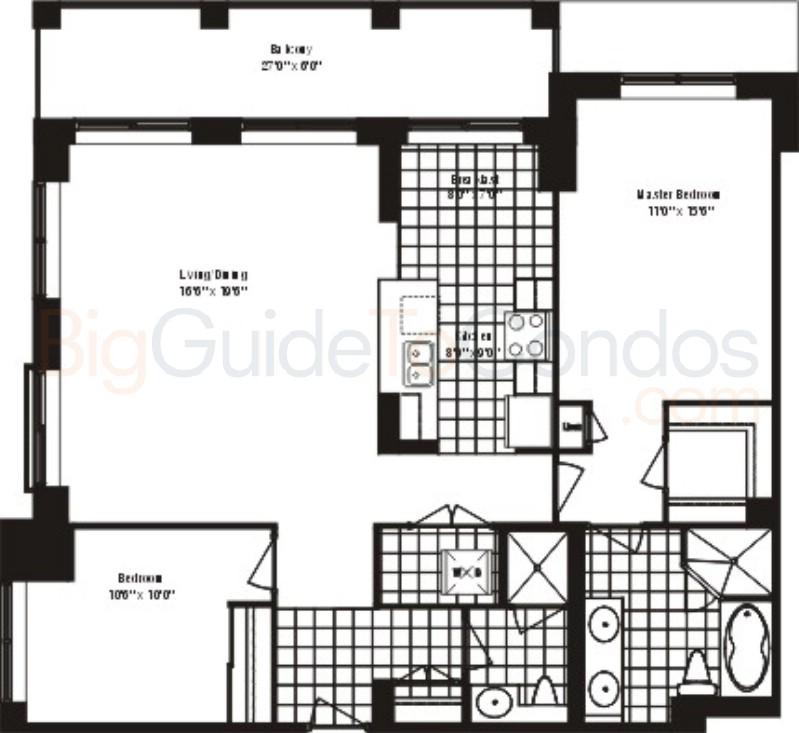 1101 1103 1105 Leslie Street Reviews Pictures Floor Plans