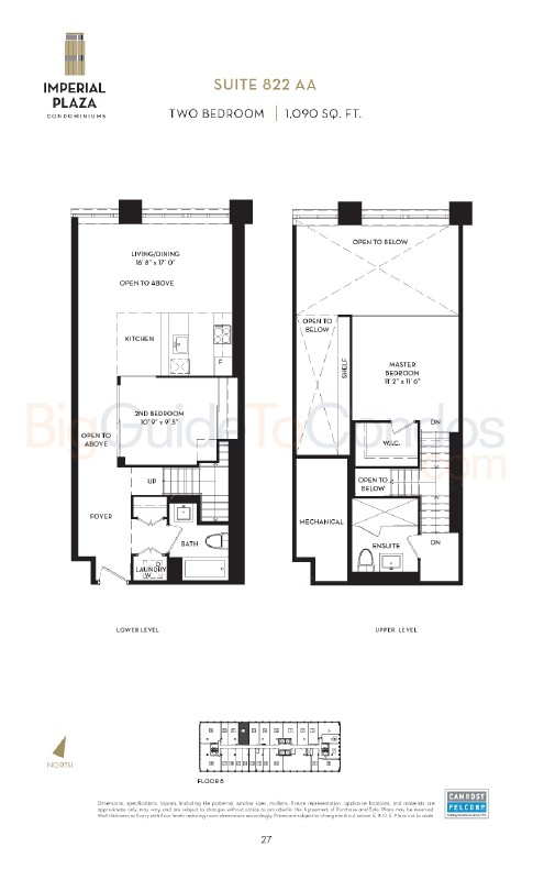 111 St Clair Ave West Reviews Pictures Floor Plans & Listings
