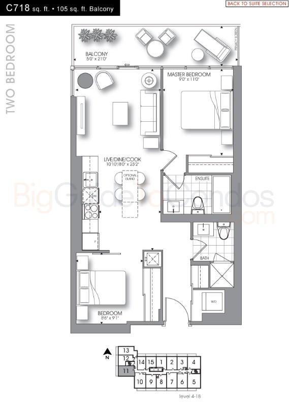 105 George Street Reviews Pictures Floor Plans & Listings