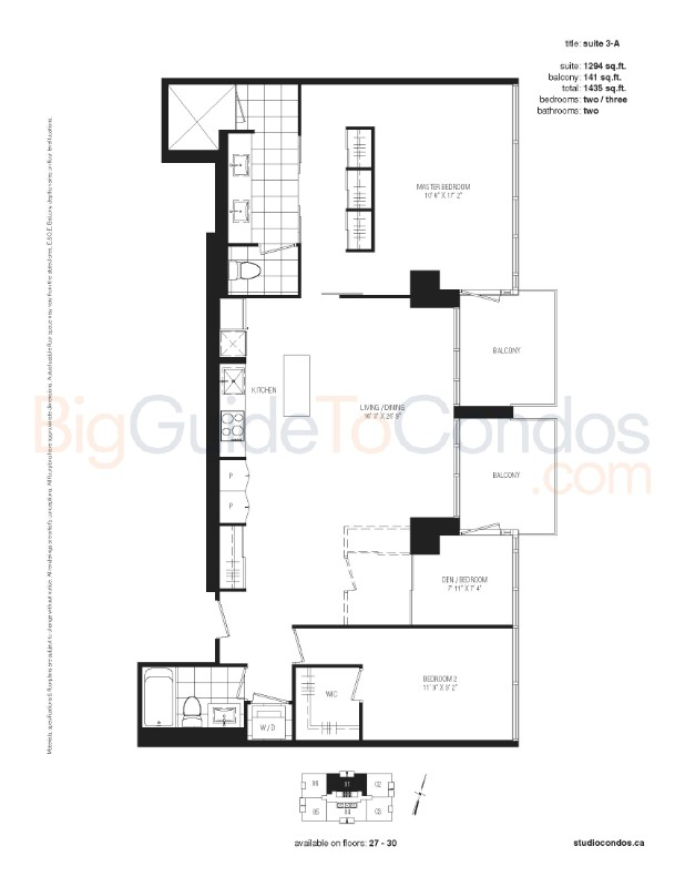 Studio Condos Reviews Pictures Floor Plans & Listings