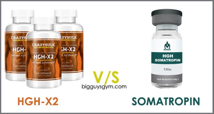 HGH X2 or Somatropin HGH supplements