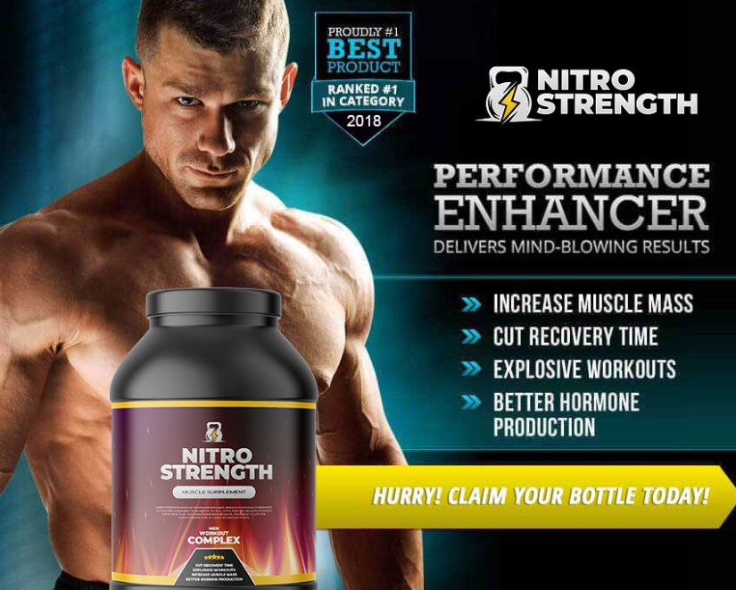 Order Nitro Strength supplements online