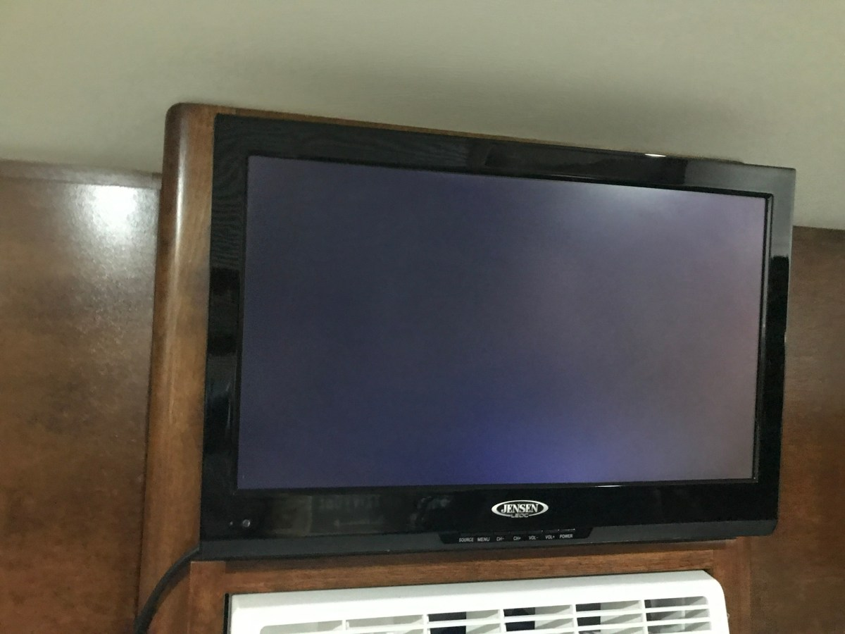 Jensen TV & DVD Player—Basic Use with Cable or Air Antenna