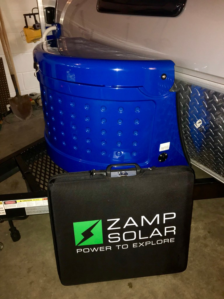 Solar Panels for Newbies, Access to New Places - Big Guy Tiny Trailer