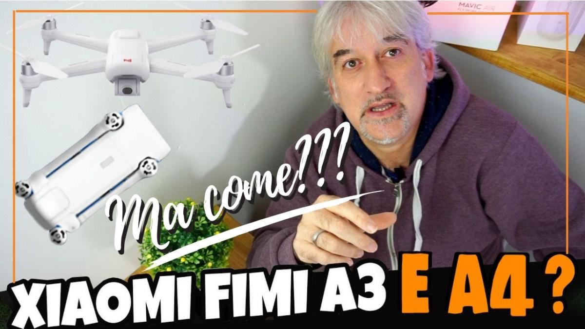 Esce il Fimi 4K Folding Drone... ma come??? io sto aspettando il FIMI A3???
