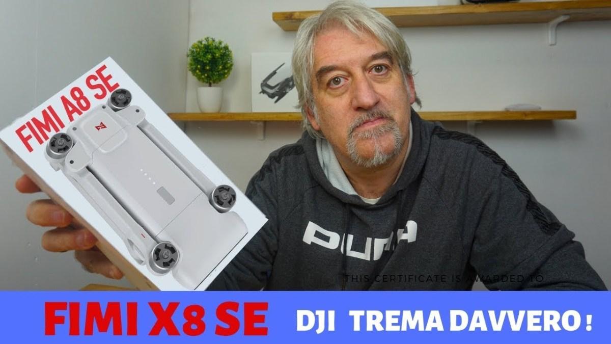 Fimi X8 SE, mi sa che adesso DJI trema....