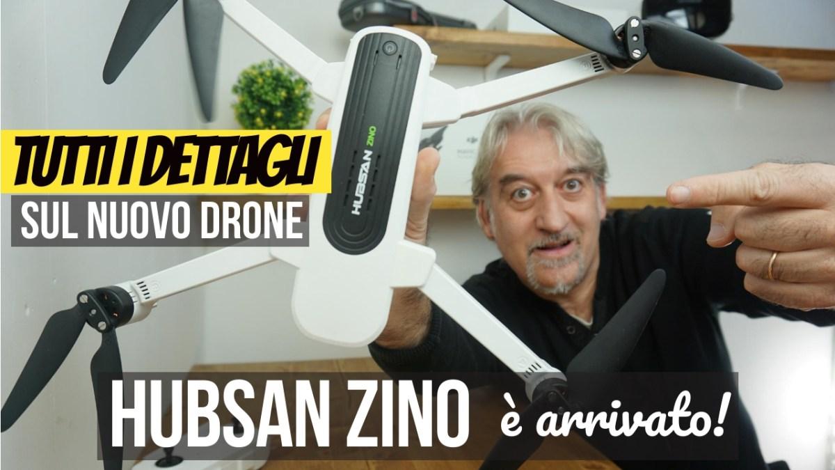 HUBSAN ZINO, mi è arrivato! Tutti i dettagli sul nuovo drone 
