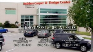 Tv Commercial Shot for Frisco Based Builders Carpet & Design Center-Big Hit Creative Group