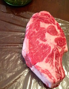 2.6 lb Local, Bone-In Beef Rib Steak (Cowboy Steak)