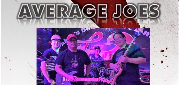 "Hanging with the ""not-so"" Average Joes Band"