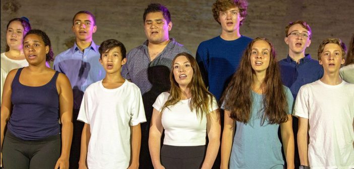 Up the Musical Scale:  Young Singer Showcase