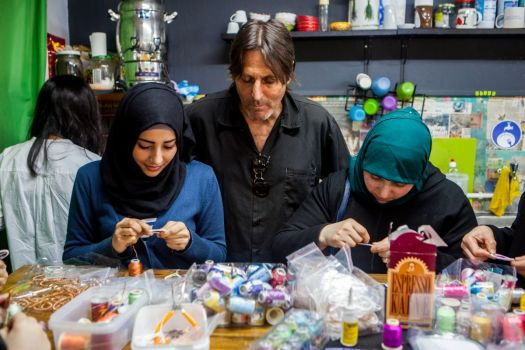WEAREONE Collective Drop Earrings Not Bombs
