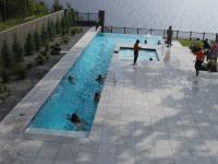 Infinity, Vanishing and Negative Edge Swimming Pools