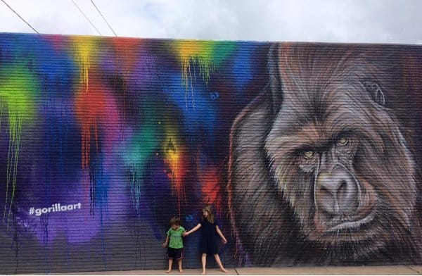 Gorilla Art Mural 2119 Washington Ave Sebastien Mr D Boileau