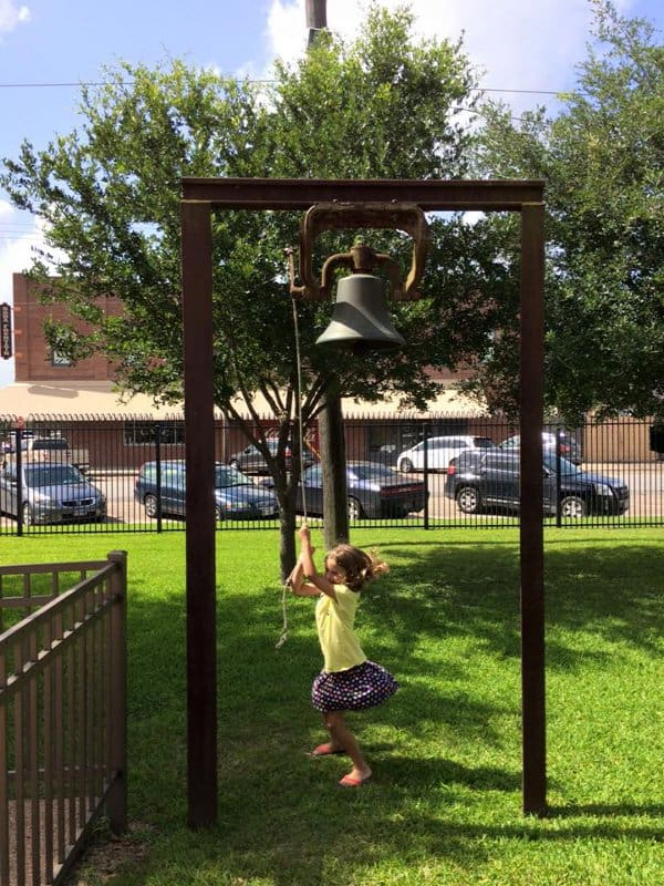 Rosenberg Railroad Museum Bell