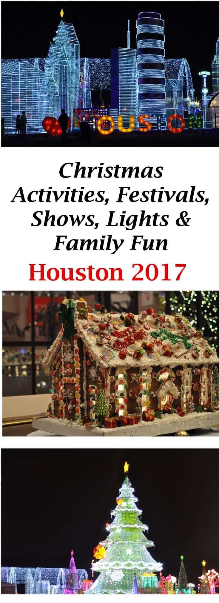 Christmas 2013 Activities Houston