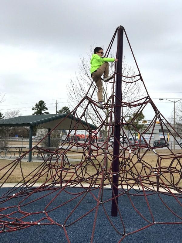 The Playground for All at Angel Park aka LindsayLyons Park