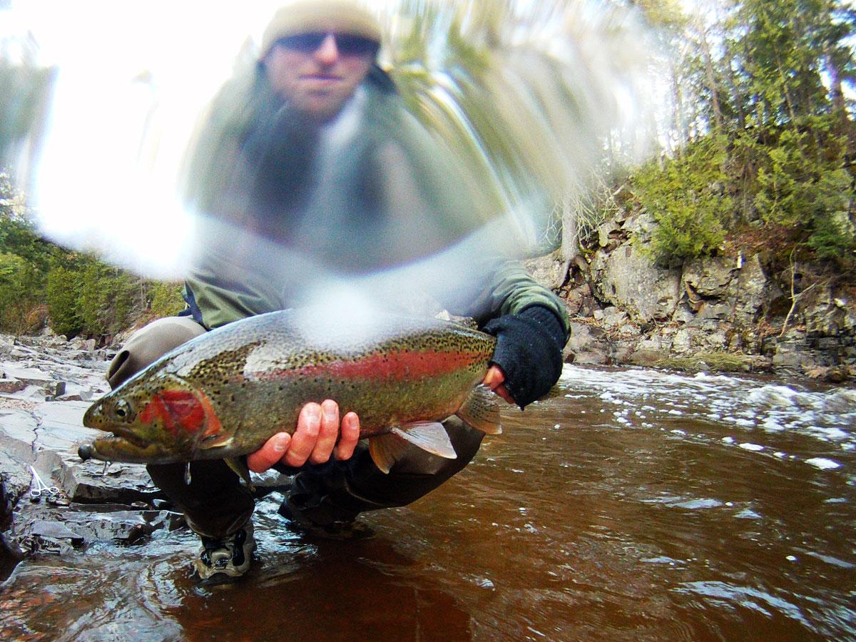 Great Lakes Steelhead Fishing