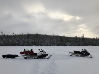 Ski-doo Tundra LT and Renegade