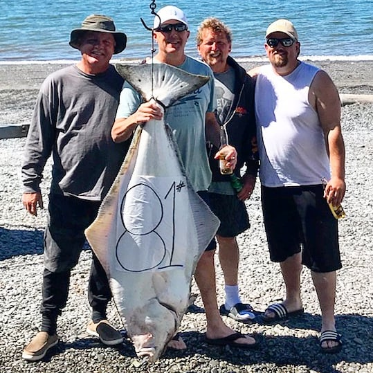 Halibut Fishing Lower Cook Inlet Alaska