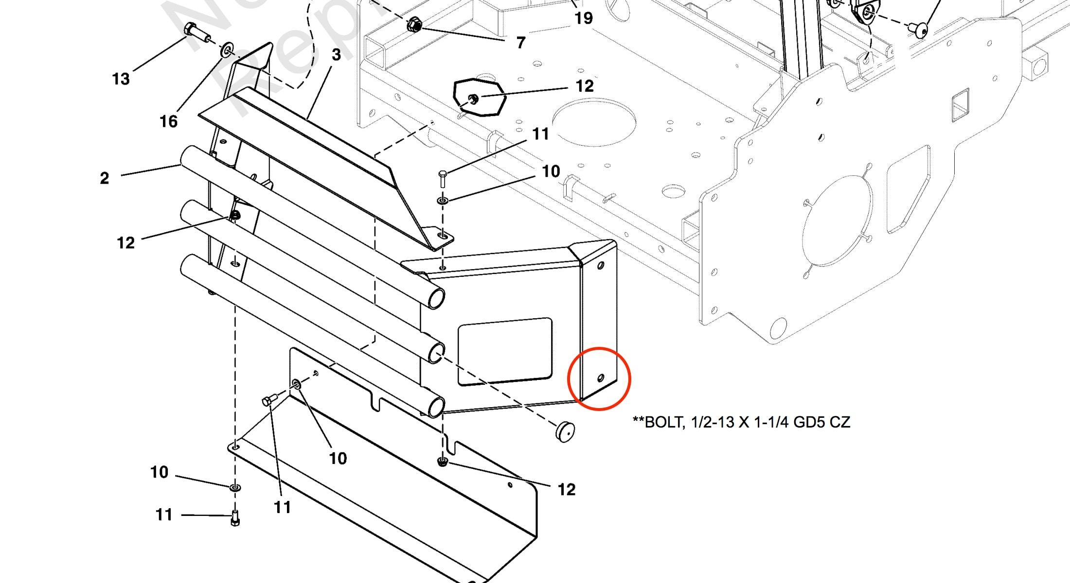 CheckMate™ Lawn Striper for Ferris F320Z