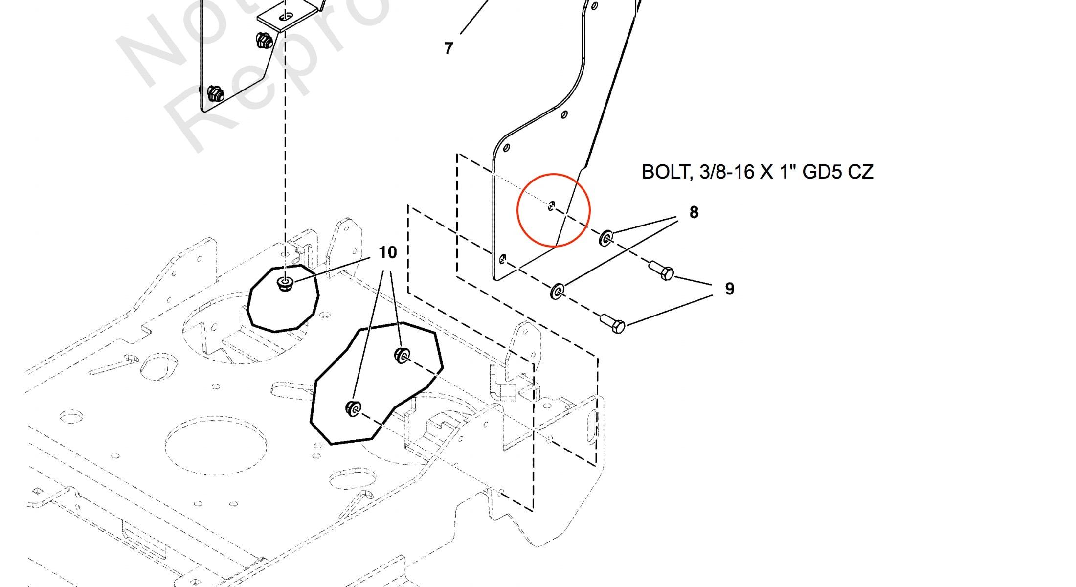 CheckMate™ Lawn Striper for Ferris FW25