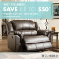 Big recliners save up to 50 dollars regularly 379 99 to 399 99