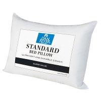 standard bed pillow size